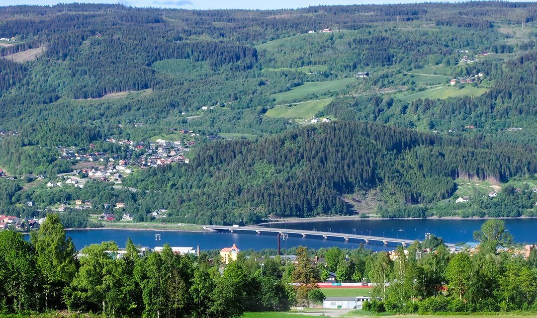 Hafjell bij Lillehammer in Noorwegen