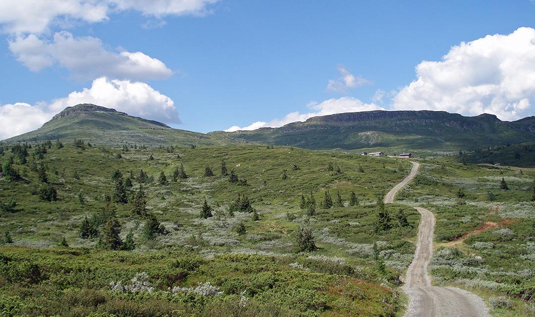 Skeikampen in Noorwegen