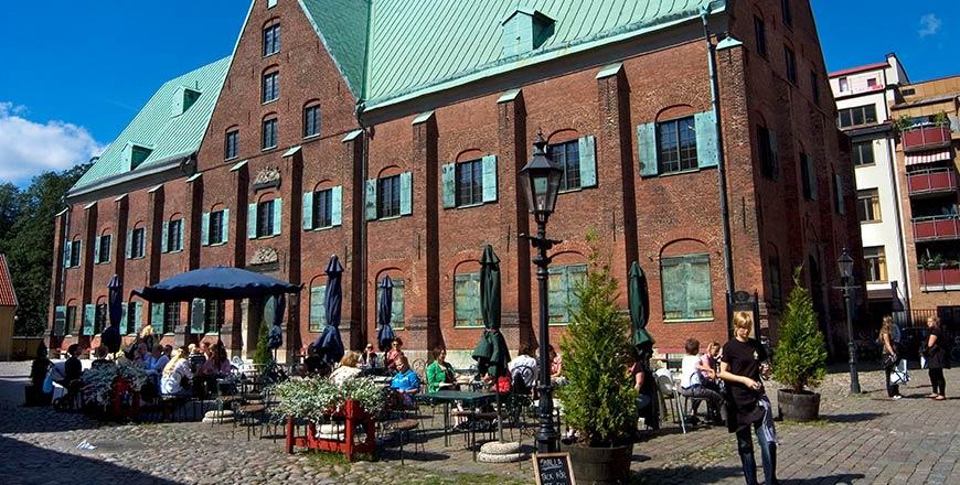 Kronhuset in Göteborg. Copyright Kjell Holmner - Göteborg & Co