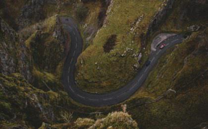 Cheddar Gorge roadtrip Engeland