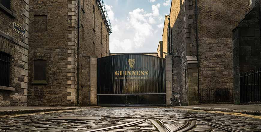Guinness Storehouse poort Dublin