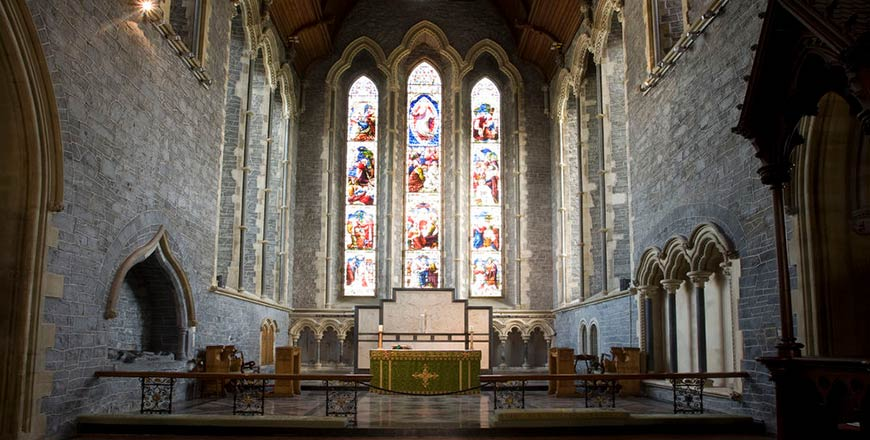 St. Canice Kathedraal in Kilkenny