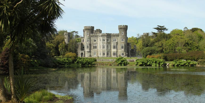 Johnstown House Gardens in Wexford