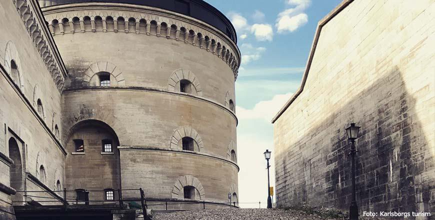 Het fort van Karlsborg