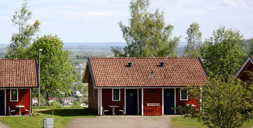 Mössebergs Camping en Stugby