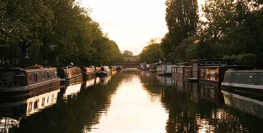 Little Venice in Londen