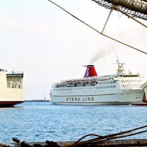 Stena Danica III in Frederikshavn 1975