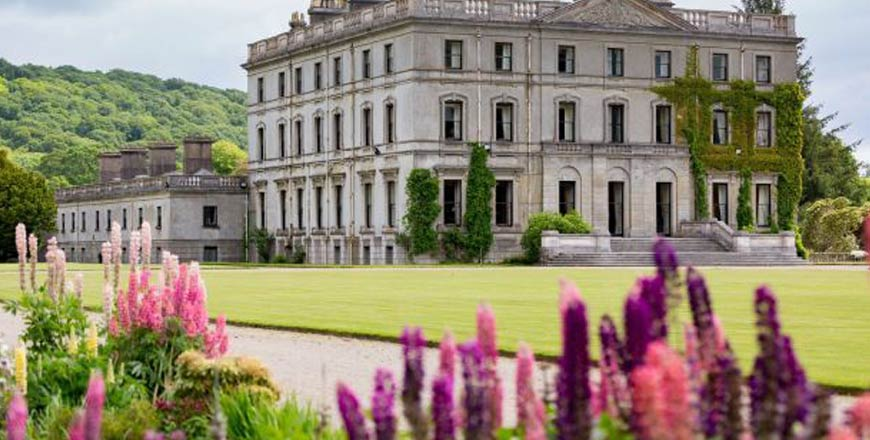Curraghmore House en Gardens in Ierland