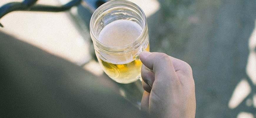 Pint bier in Engeland