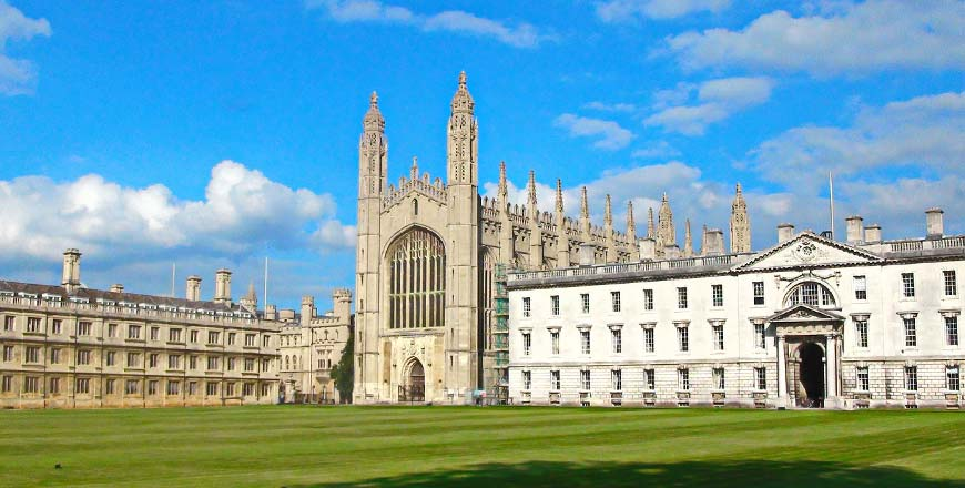 King College in Cambridge