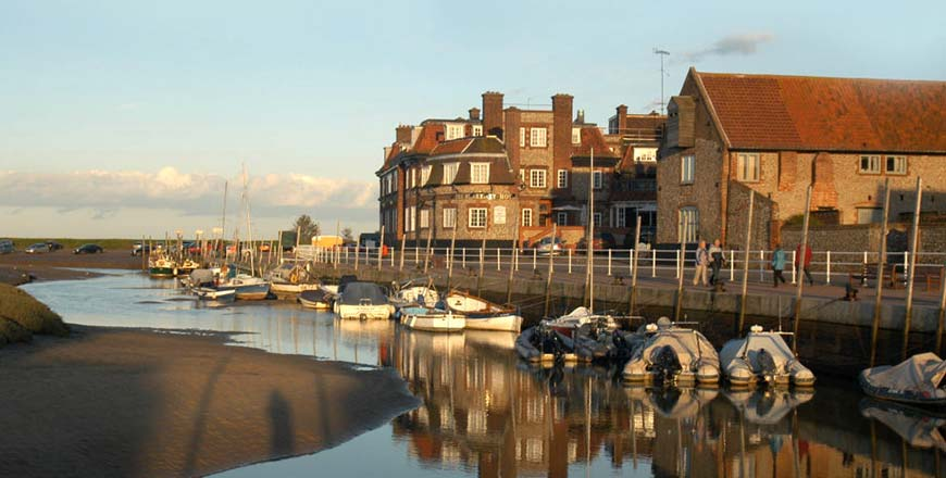 Hondvriendelijk hotel Blakeney hotel in Norfolk bij Blackeney Point