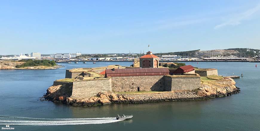 Nya Älvsborgs fästning in Göteborg