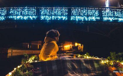 Punteren in Cambridge met Kerst via Scudamores