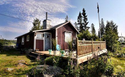 Sommarstuga zomerhuisje in Zweden