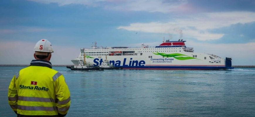 Stena Estrid vertrekt vanuit China