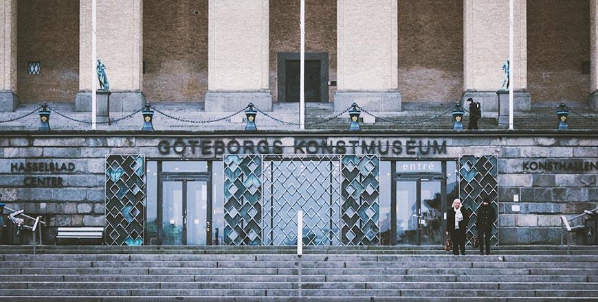 Göteborgs Konstmusem entree